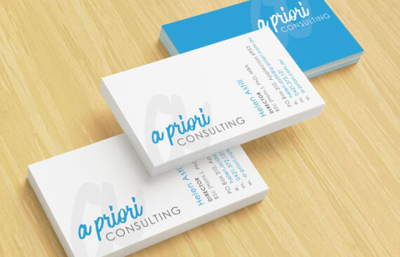 A Priori Consulting Business Cards