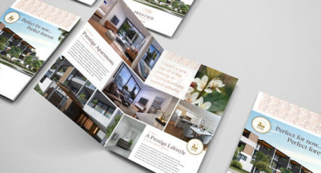 Prestige on Beach Bifold Brochure