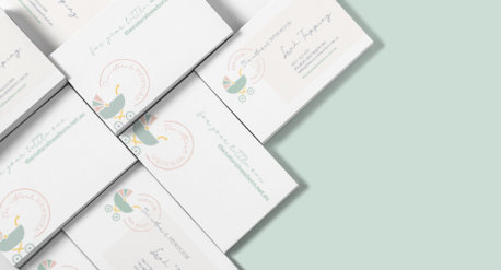 Taryn Langlois TL Design Co Branding Design & Website for The Natural Newborn