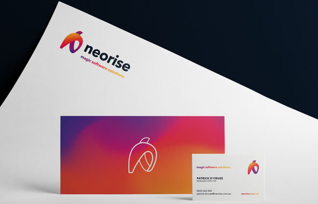 Taryn Langlois TL Design Co Neorise Brand Refresh Logo Design Stationery; Website, Photography and Icons.